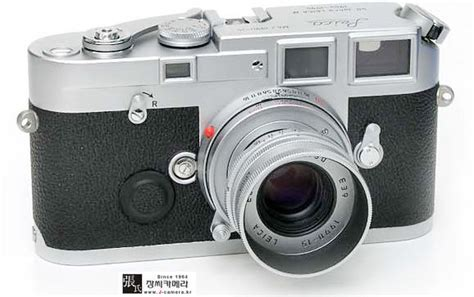 Korea Kamera showcase on slelective leica m6j models 40th jahre years