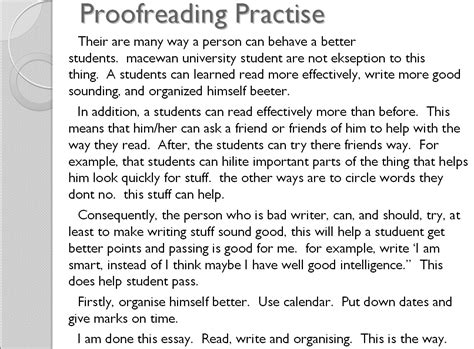 Proofreading Worksheets by Worksheet Proofreading Worksheets Middle School