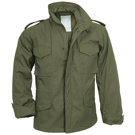 Parka Green Army List Parka Army Premium m65 field jacket coat army mens combat parka liner surplus olive od ebay