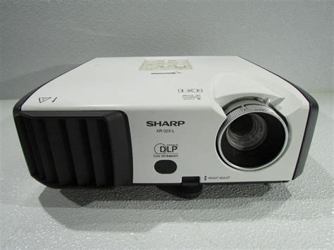 Projector L sharp xr 32x l dpl projector for parts 74000365575 ebay