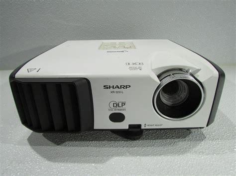 Proyektor Sharp sharp xr 32x l dpl projector for parts premier equipment solutions inc