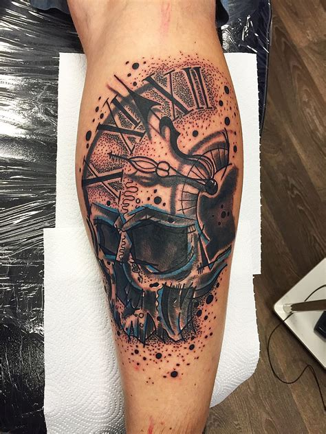 tattoo el color solido