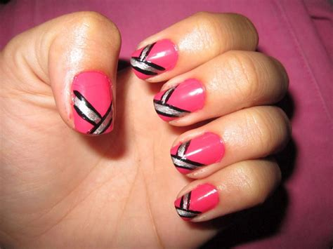 how to make simple and stylish nail designs at home
