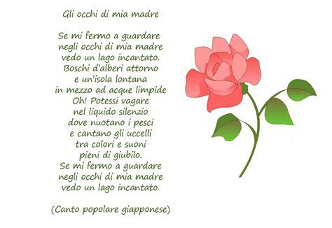 lettere dedicate alla mamma poesie sulla mamma con cornicette da stare mamma e