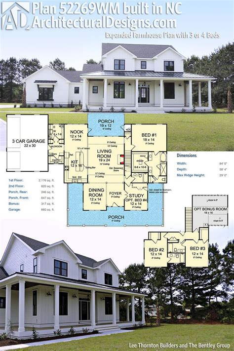 farmhouse home plans best 25 modern farmhouse plans ideas on