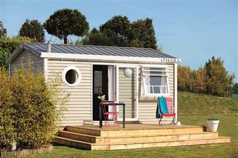 Location mobil home 19m2 avec terrasse en Bretagne, Finistère Sud