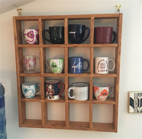 cabinet mug rack coffee mug rack dave eddy