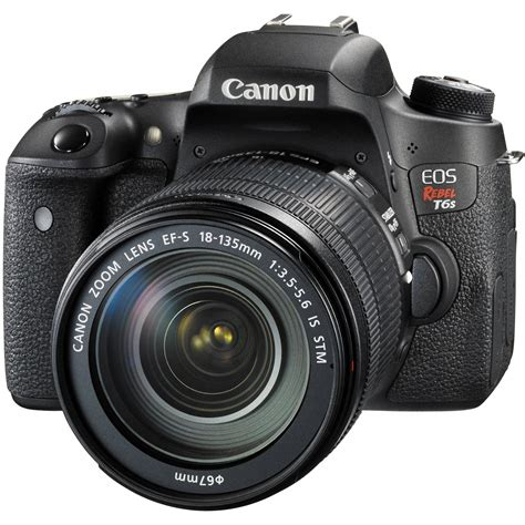 canon dslr canon eos rebel t6s dslr with 18 135mm lens