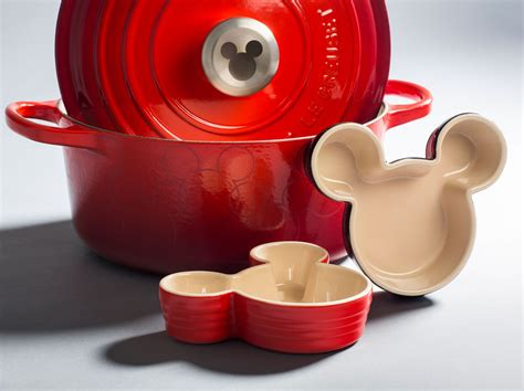Le Creuset Disney | le creuset s new mickey mouse collaboration was made for