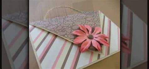 how to make a shaped card how to make a shaped card that fold into an envelope