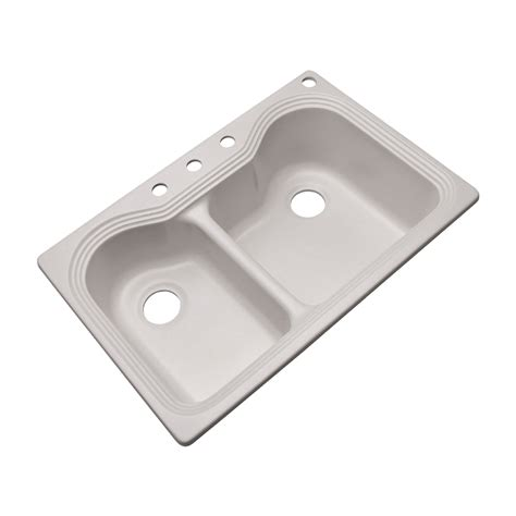 composite kitchen sinks solidcast 5464 monterey composite granite double bowl