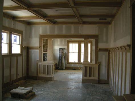 Craftsman Trim Ontario Park Bungalow Blog Interior | arts and crafts ontario park bungalow blog