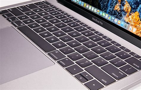 macbook top bar apple macbook pro 13 inch 2016 full review and benchmarks