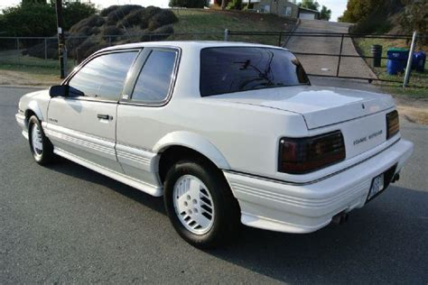 1989 Pontiac Grand Am by 1989 Pontiac Grand Am Se Coupe 2d In El Cajon Ca 1 Owner