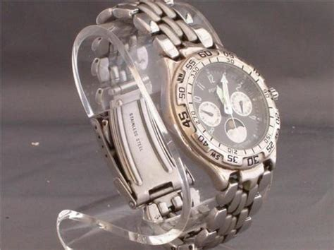 Other Watches Fossil Men S Blue Chronograph Watch Bq
