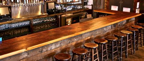 reclaimed wood bar top brooklyn reclaimed bar top brooklyn reclaimed unique furniture