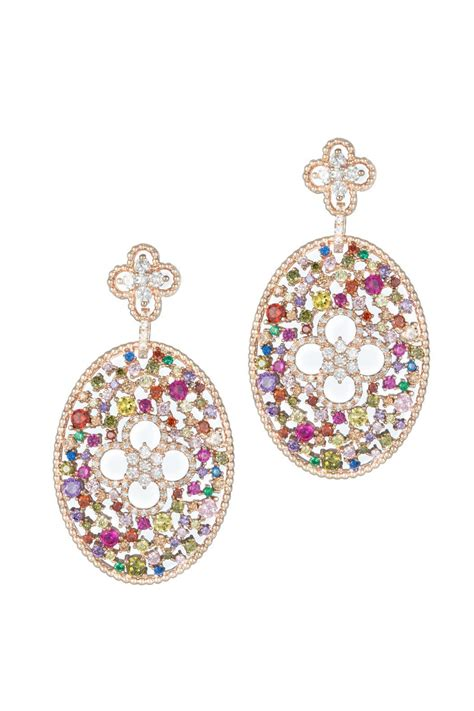 theia jewelry ornate oval earrings from hudson valley by
