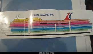 carnival imagination floor plan cabin below dining room page 2