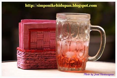 Tatakan Piring Hijau kerajinan tangan tatakan gelas kotak merah muda kreasi