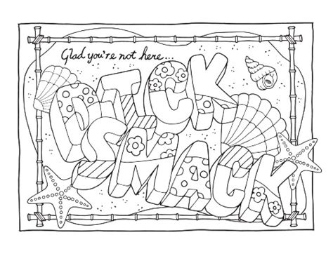 coloring pages swear words printable you may download these free printable swear word coloring