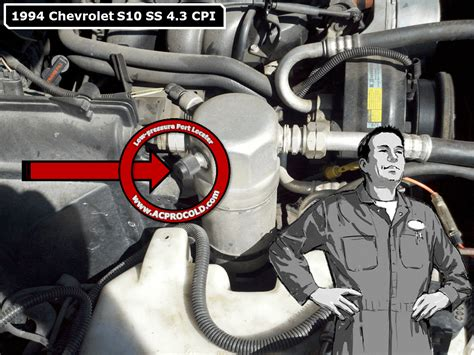 service manual how to recharge a 1995 gmc 1500 air conditioner a c recharge issue blazer