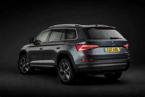 skoda kodiaq price new skoda kodiaq suv official pictures auto express