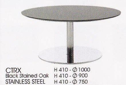 Kursi Bulat Stainless Steel meja bulat indachi ctrx furniture kantor