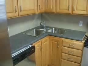 interior undermount corner kitchen sink grey bathroom