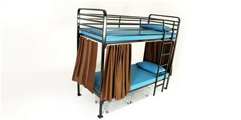 Safety Rails For Bunk Beds Bunk Bed Safety Rail Axondirect Bunk Bed In Black Metal Finish With Ladder And