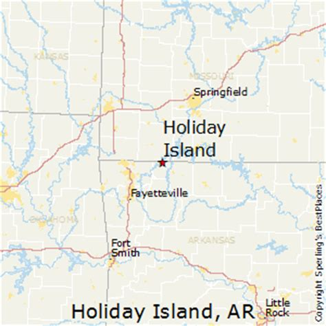 best places to live in island arkansas