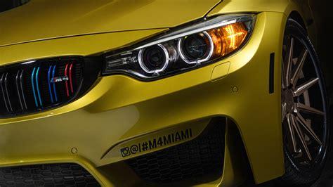 Car 5k Wallpaper by Wallpaper Bmw M4 Yellow Miami Bmw Hd 5k