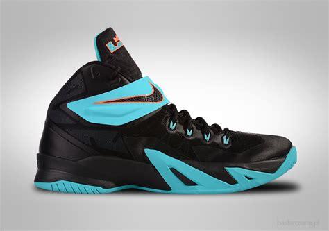Sepatu Basket Nike Lebron Soldier 11 Yellow Blue nike zoom soldier viii lebron gamma blue for 95 00