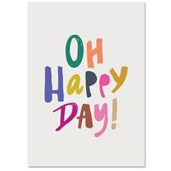 oh happy day print babasouk