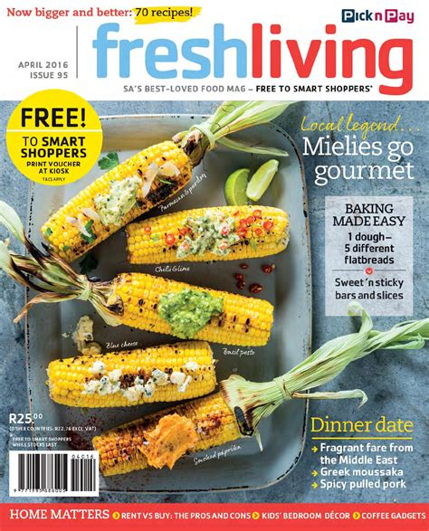 fresh living fresh living april 2016 by pick n pay issuu