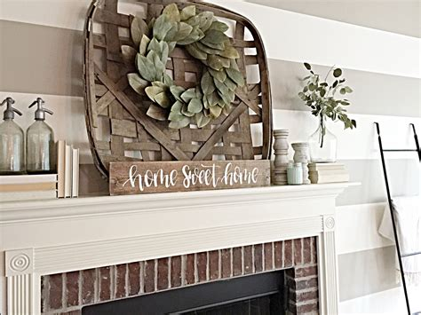 home sweet home decor home sweet home sign rustic home decor fireplace decor