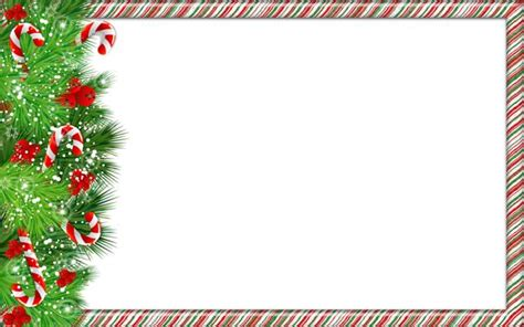 printable christmas ornament picture frames christmas png photo frame with candy canes scrapbook