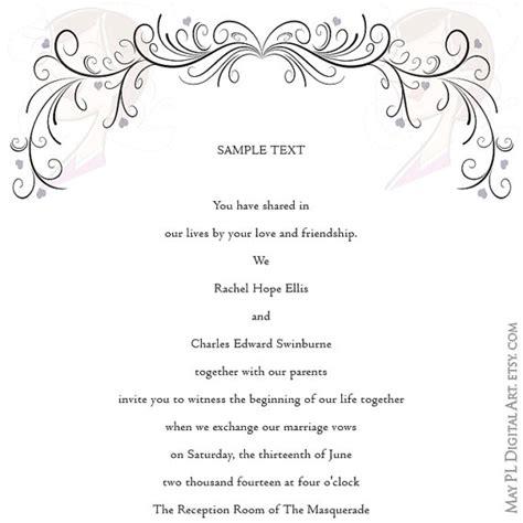 Wedding Invitation Border Graphics by Wedding Clipart Vintage Flourish Curly By