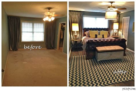 bedroom remodel before and after bathroom vanity makeover with annie sloan chalk paint