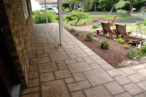 outdoor tile concrete unique concrete