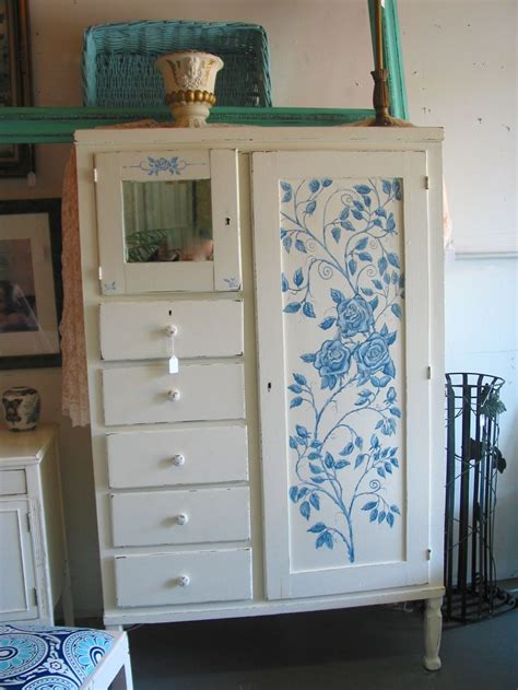 100 shabby chic home decor for sale painted vintage sold 1890 1920 s chifferobe wardrobe cabinet new paint