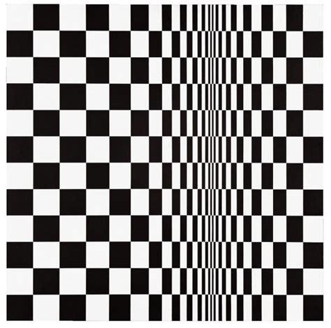 ilusiones opticas artistas bridget riley 187 movement in squaresdavid zwirner
