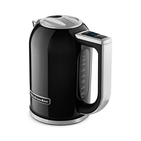 Kitchenaid Electric Appliances Kitchenaid Artisan Electric Kettle Kek1722 Onyx Black On