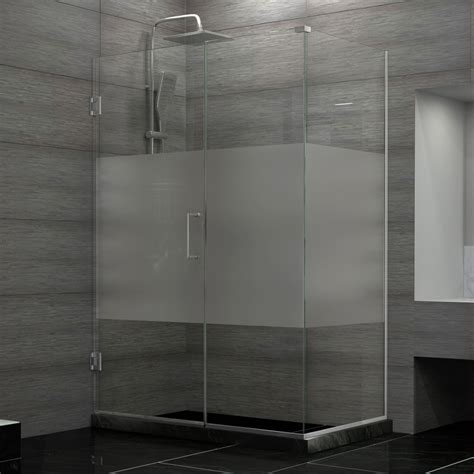 15 Decorative Glass Shower Doors Patterns For A Bathroom Decorative Shower Doors
