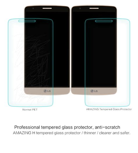 Tempered Glass Lg G3 Stylus Temper Glass Anti Gores Kaca 1 nillkin anti explosion tempered glass for lg g3