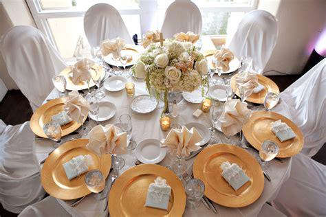 white and gold table white and gold table settings home design
