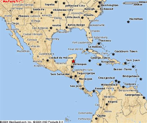 map of mexico vacation spots 2004 q3 random vacation selection