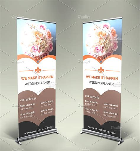 Banner Wedding Organizer banner exles graphic design banner inspiration 25