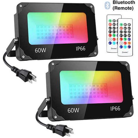 bluetooth smart rgb led flood lights  wireless
