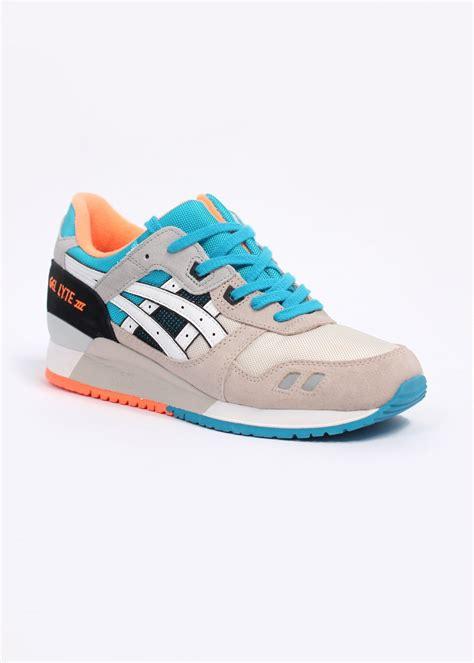Sepatu Sport Asics Gel Lyte Iii New asics gel lyte iii quot sports pack quot trainers white