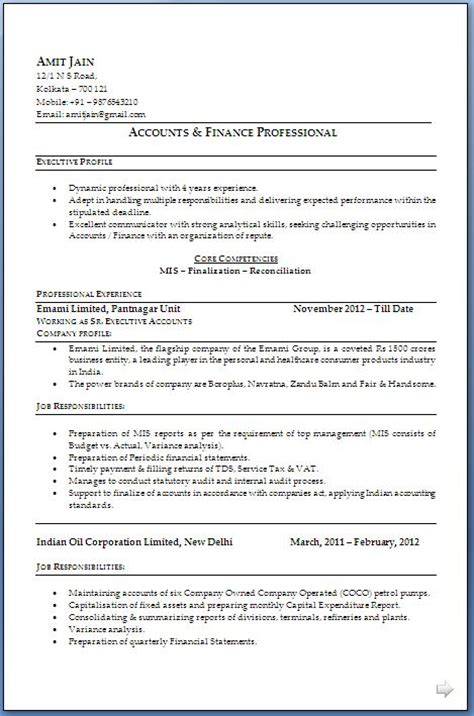 cosy mis executive resume in word for your mis resume sample